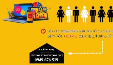 Viet Solution tuyển dụng nhân viên Designer