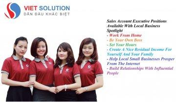 Tháng 2/2017: Viet Solution tuyển gấp Nhân viên kinh doanh