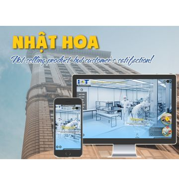 Thiết kế web Nhật Hoa IC&T