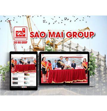 Thiết kế web Tập đoàn Sao Mai