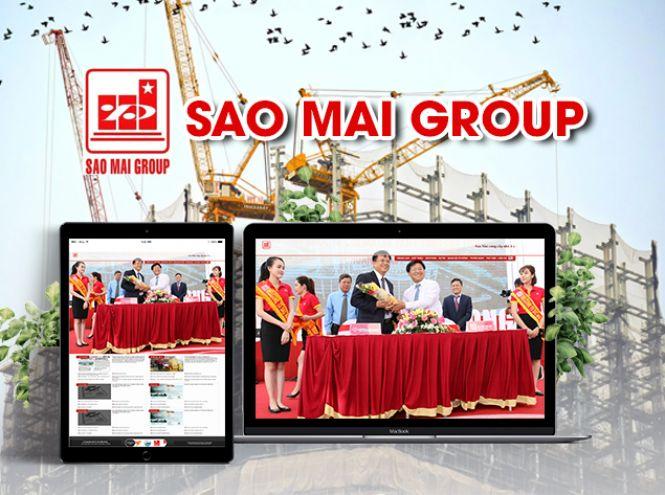 Thiết kế website - Tập đoàn Sao Mai