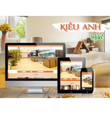 Thiết kế web Kiều Anh Hotel