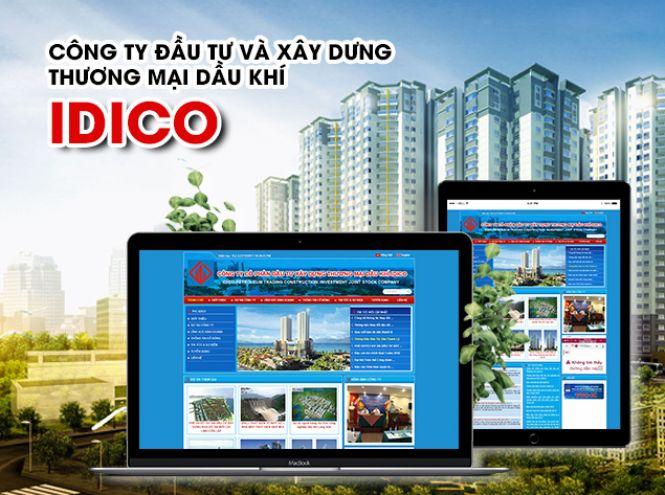 Thiết kế website - Công ty cổ phần đầu tư xây dựng thương mại dầu khí - IDICO