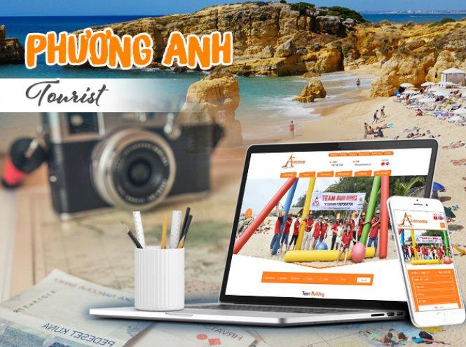 Thiết kế website - Phương Anh Tourist