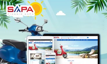 Thiết kế website - Piaggio Sapa