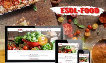 Thiết kế website - ESOL FOOD
