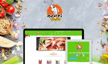 Thiết kế website - Haani Fresh Foods