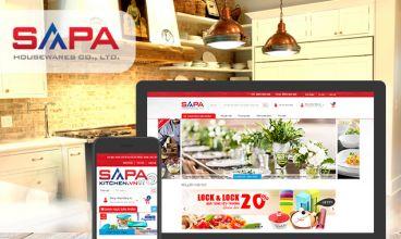 Thiết kế website - SAPA Kitchen