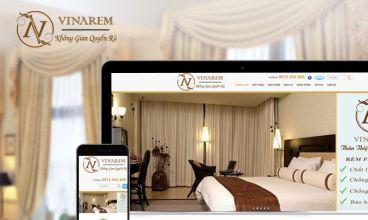 Thiết kế website - Rèm cửa màn cửa VINAREM