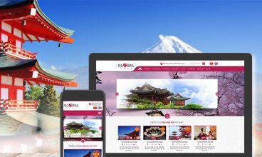 Thiết kế website - Công ty TNHH Global Tour