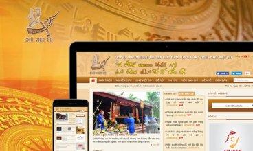 Thiết kế website - Chữ cổ Lạc Việt