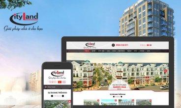 Thiết kế website - Công ty TNHH đầu tư địa ốc CityLand