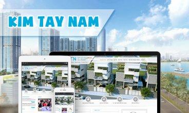 Thiết kế website - Công ty cổ phần Kim Tây Nam