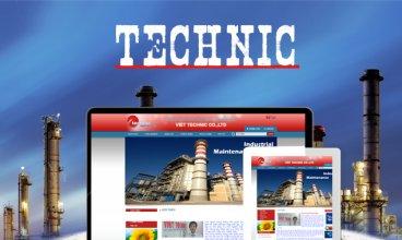 Thiết kế website - Công ty TNHH Kỹ Thuật Việt