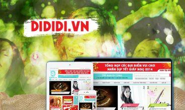 Thiết kế website - Đi Đi Đi