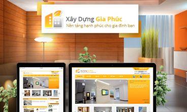 Thiết kế website - Xây dựng Gia Phúc