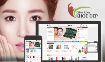 Thiết kế website - Giảm cân khỏe đẹp