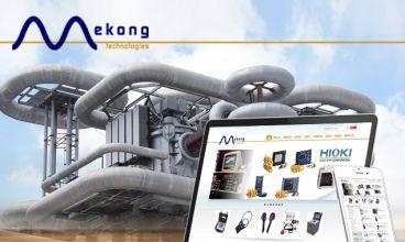 Thiết kế website - Thiết bị kỹ thuật Mekong