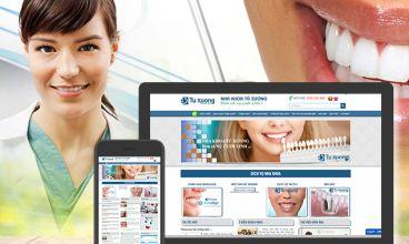 Thiết kế website - Nha khoa Tú Xương