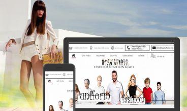 Thiết kế website - Đồng phục Legendtshirt
