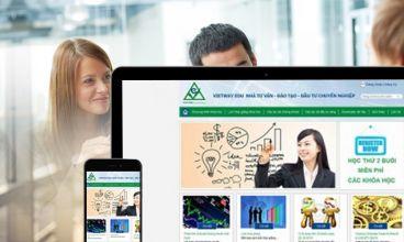 Thiết kế website - Trung tâm đào tạo Vietway Edu
