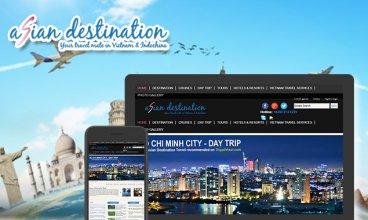 Thiết kế website - Asian Destination Travel