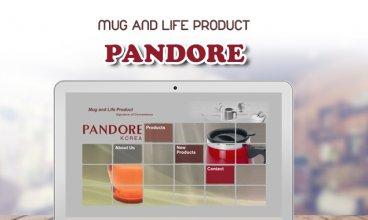 Thiết kế website - Pandore Korea - Dịch vụ quà doanh nghiệp