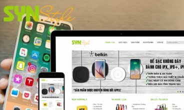 Thiết kế website - Công ty TNHH SYN STYLE
