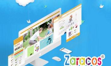 Thiết kế website - Zaracos