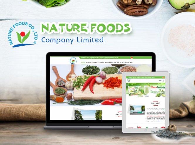 Thiết kế website - Công ty NFC
