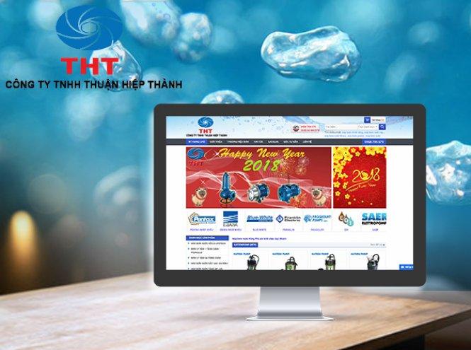 Thiết kế website - Công ty TNHH MTV Hằng Phú