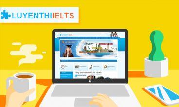 Thiết kế website - Trung tâm luyện thi IELTS