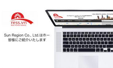 Thiết kế website - Công ty bất động sản Ress