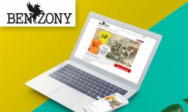 Thiết kế website - Thời trang Benzony Fashion