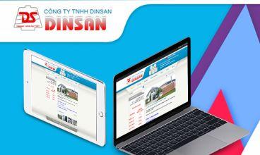 Thiết kế website - Công ty sản xuất sợi Dinsan Yarn