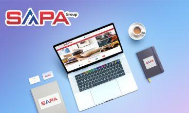Thiết kế website - Công ty TNHH Thương mại Sapa