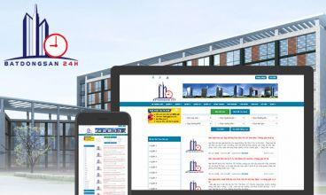Thiết kế website - Thiết kế web Bất động sản 24h
