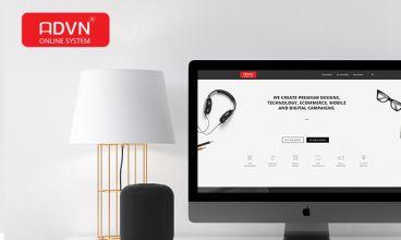 Thiết kế website - Thiết kế web thương mại điện tử ADVN