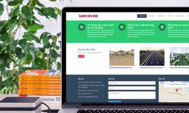 Thiết kế website - Thiết kế web Công ty Weicovina