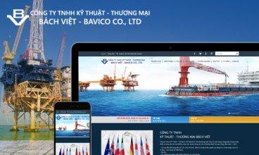 Thiết kế website - Thiết kế web Công ty Phân phối Máy bơm nước Bách Việt