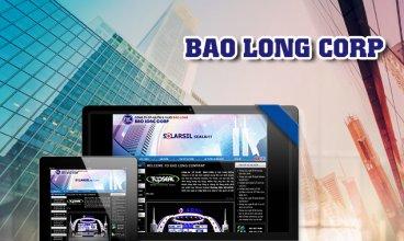 Thiết kế website - Thiết kế web thương mại điện tử Bảo Long