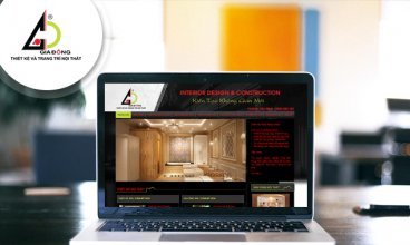 Thiết kế website - Thiết kế web Công ty Gia Đông