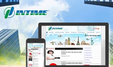 Thiết kế website - Thiết kế web Công ty INTIME