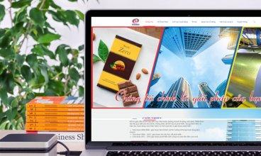 Thiết kế website - Thiết kế web Công ty CP Thương Mại Xuất Nhập Khẩu TNA
