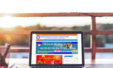 Thiết kế website - Thiết kế web Trường TC kinh tế kỹ thuật Sài Gòn
