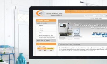 Thiết kế website - Chương Nhân Medical