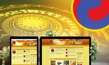 Thiết kế website - Thiết kế web Phong Thủy Lạc Việt