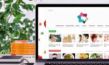 Thiết kế website - Cộng đồng phụ nữ hiện đại HerVietnam