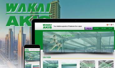 Thiết kế website - Wakai Việt Nam