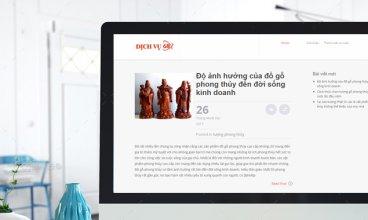 Thiết kế website - Thiết kế web thương mại điện tử Dịch vụ 68